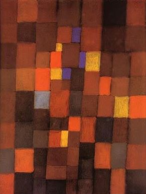 Klee 'Pictorial Architecture Red, Yellow, Blue' (1923)