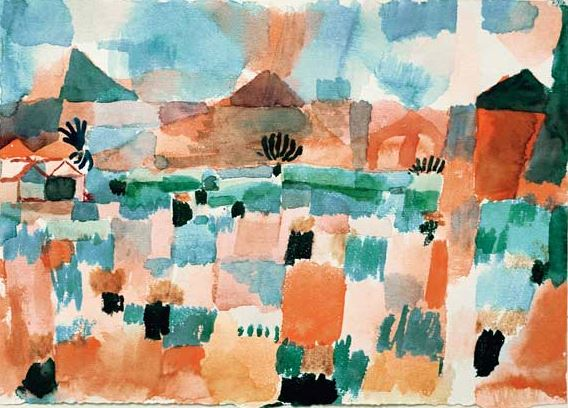 Klee 'Saint-Germain near Tunis' (1914)