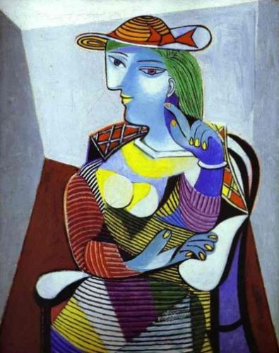 Picasso 'Portrait of Marie-Therese' (1937)