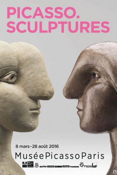 Picasso. Sculptures exhibition poster