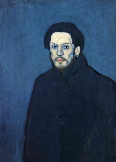 Picasso 'Self-Portrait' (1901)