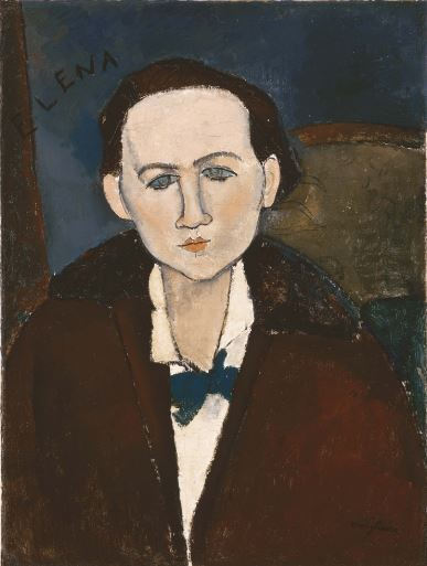 Amedeo Modigliani 'Elena Povolozky' (1917)