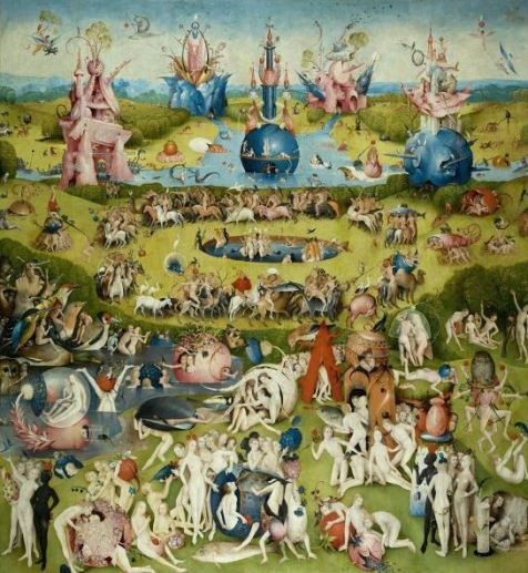 Bosch 'The Garden of Earthly Delights' central panel (1480 - 1505)