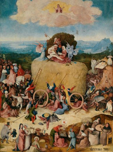 Bosch 'The Haywain' central panel (c.1512 - 15)