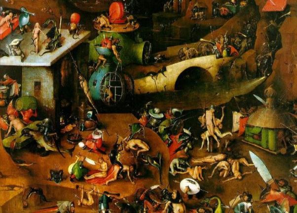 Bosch 'The Last Judgement' detail (c.1505 - 15)