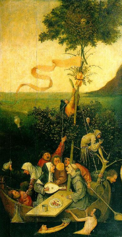 Bosch 'The Ship of Fools' (c.1505 - 16)