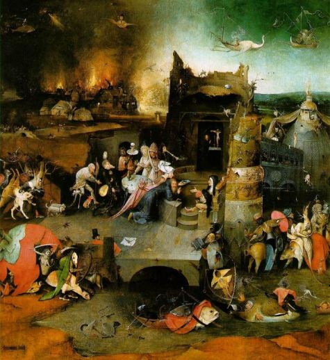 Bosch 'The Temptations of St. Anthony' central panel (c.1500 - 05)