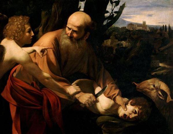 Caravaggio ' The Sacrifice of Isaac' (1603)