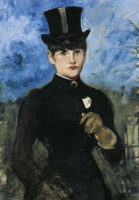 Edouard Manet 'Horsewoman, Full-Face' (c.1882)