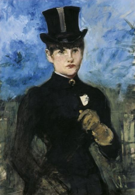 Edouard Manet 'Horsewoman, Full-Face' (c.1882)