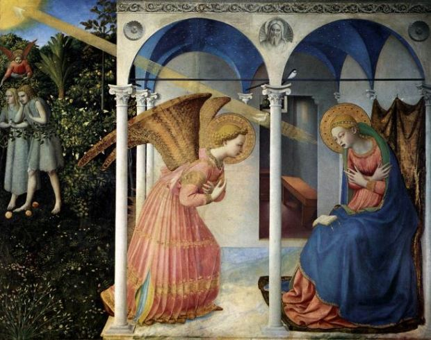 Fra Angelico 'The Annunciation' (1430 - 32)