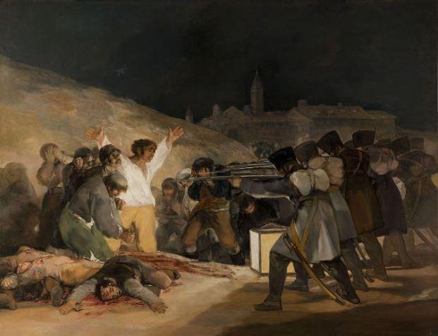 Francisco de Goya 'The Third of May, 1808' (1814)
