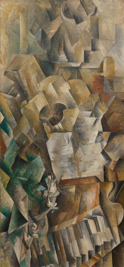 Georges Braque 'Piano and Mandola' (1909 - 10)