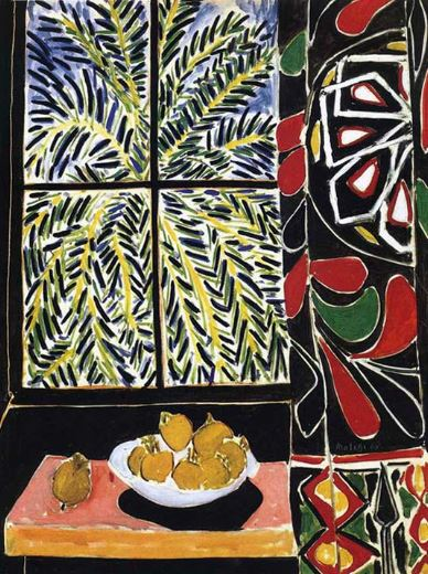 Henri Matisse 'Interior with Egyptian Curtains' (1948)