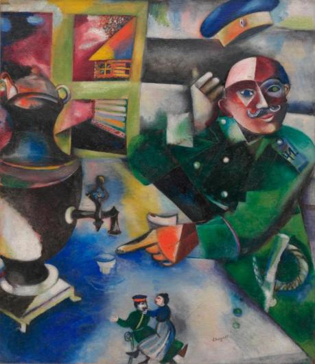 Marc Chagall 'The Soldier Drinks' (1911 - 12)