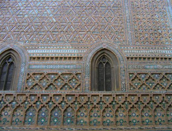 Mudejar wall, Zaragoza Cathedral