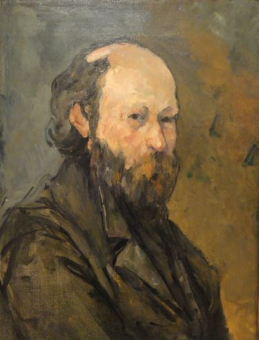Paul Cezanne 'Self-Portrait' (1878 - 80)