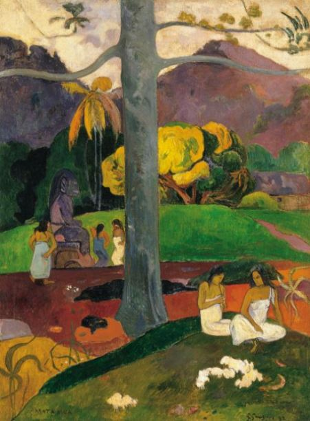 Paul Gauguin 'Mata Mua (In Olden Times)' (1892)