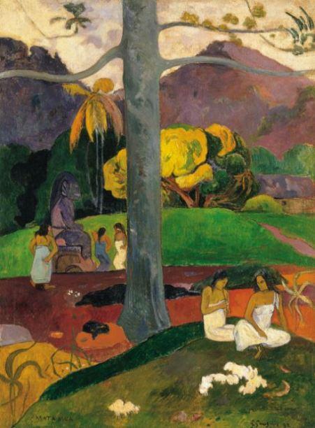 Paul Gauguin 'Mata Mua (In Olden Times)' (1892)