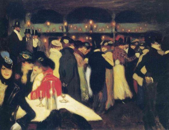 Picasso 'La Moulin de la Galette' (1900)