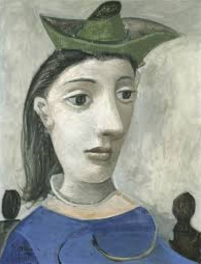 Picasso 'Woman with Green Hat' (1939)