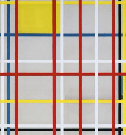 Piet Mondrian 'New York City 3' (1940 - 42)