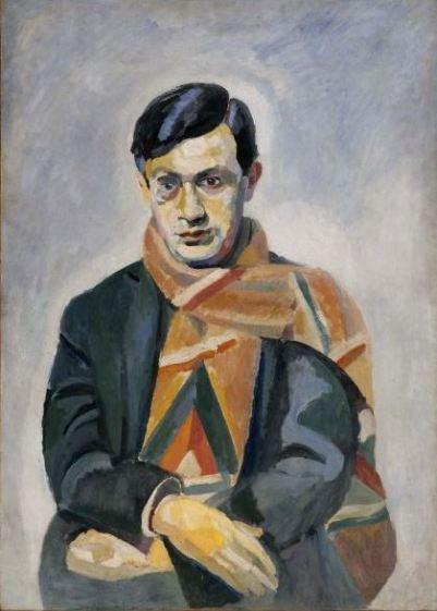 Robert Delaunay 'Portrait of Tristan Tzara' (1923)