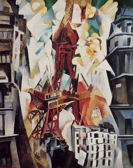Robert Delaunay 'Tour Eiffel, rouge' (1911)