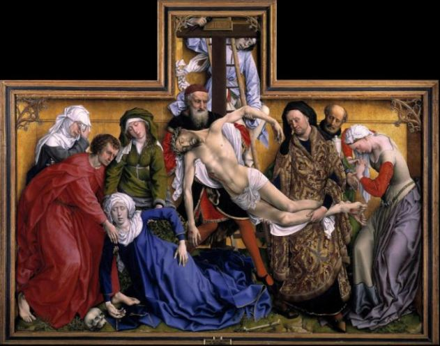 Rogier van der Weyden 'The Descent from the Cross' (c.1435)