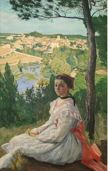bazille-la-vue-de-village-1868