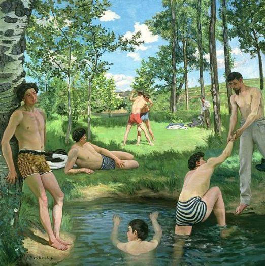 bazille-summer-scene-1869