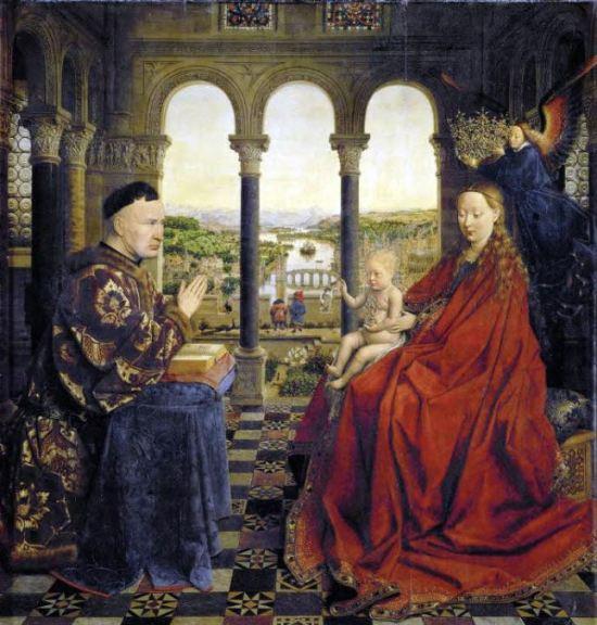 jan-van-eyck-madonna-of-chancellor-rolin-c-1435