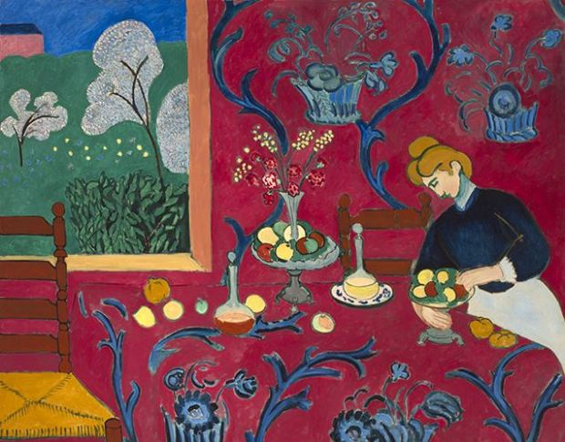 matisse-red-room-harmony-in-red-1908