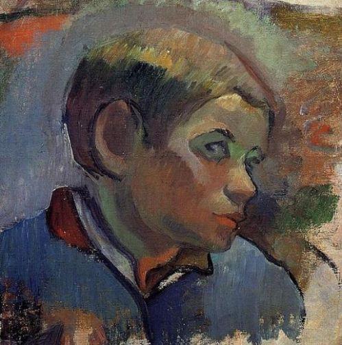 gauguin-head-of-a-young-boy-1888
