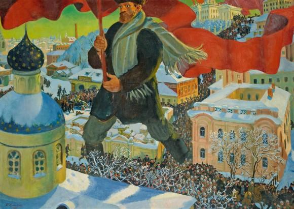 boris-mikhailovich-kustodiev-bolshevik-1920