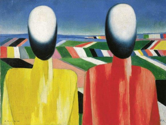kazimir-malevich-peasants-c-1930