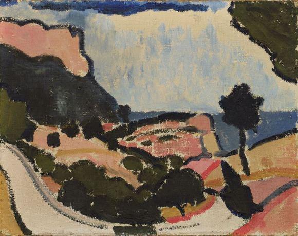 Andre Derain 'Landscape near Cassis' (1907)