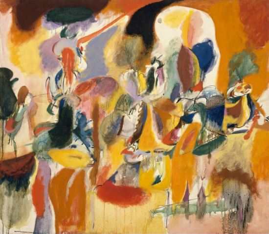 Arshile Gorky 'Water of the Flowery Mill' (1944)
