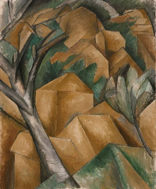 Georges Braque 'Houses in L'Estaque' (1908)