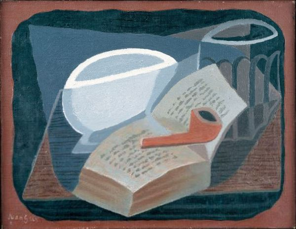 Juan Gris 'Book and Pipe' (1925)