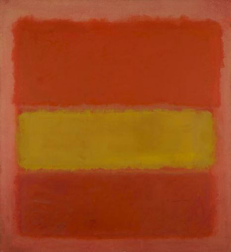 Mark Rothko 'Yellow Band' (1956)