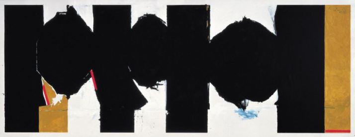 Robert Motherwell 'Elegy to the Spanish Republic, no. 126' (1972 - 75)