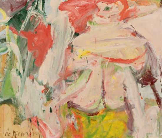 Willem de Kooning 'Untitled (Woman in Forest)' (c.1963 - 64)
