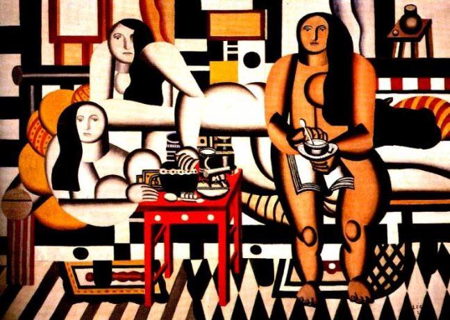 Fernand Leger 'Le Grand Dejeuner' (1921)