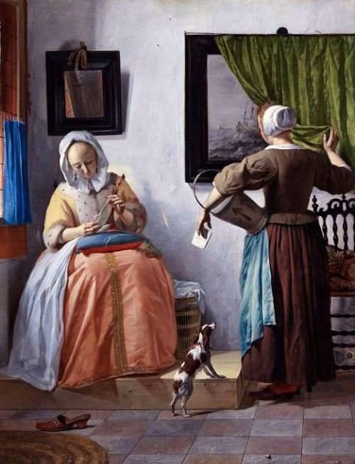 Gabriel Metsu 'Woman Reading a Letter' (1664 - 66)
