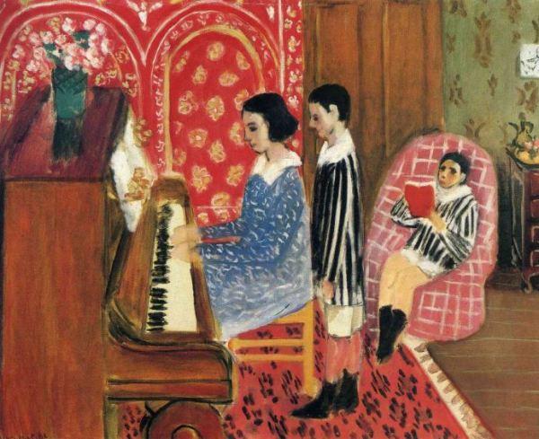 Matisse 'The Piano Lesson' (1923)