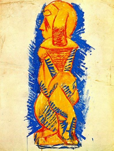 Picasso 'Standing Nude Profile' (1920)