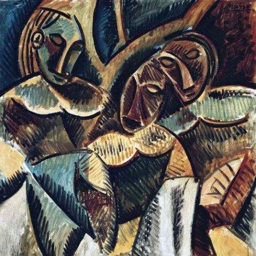 Picasso 'Three Figures under a Tree' (1907)
