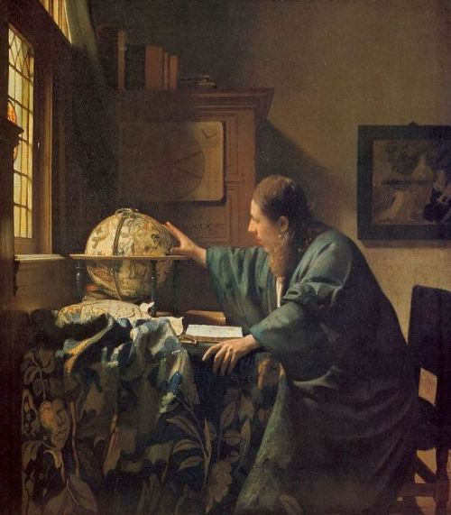Vermeer 'The Astronomer' (c.1668)
