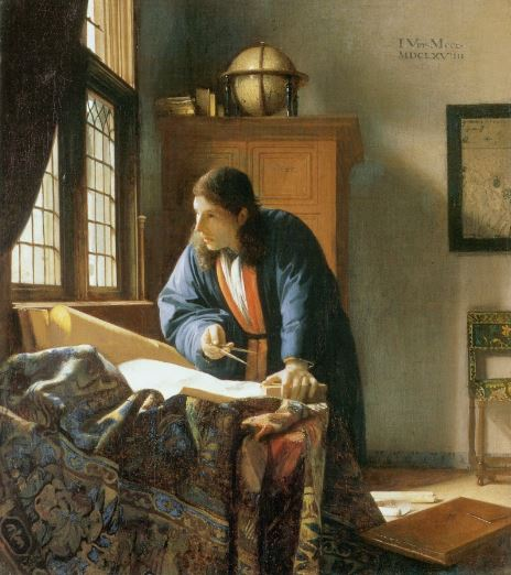 Vermeer 'The Geographer' (c.1668 - 69)